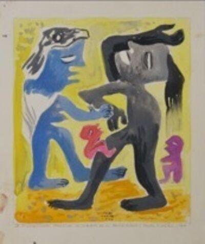 Carlos Merida, 'Divagaciones plásticas sobre un tema azteca', 1944