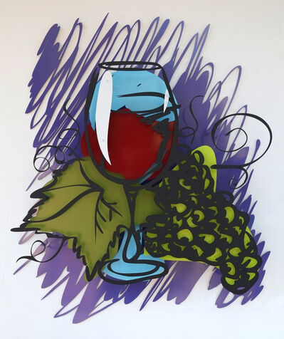 Michael Kalish, 'Wine Still Life', 2015