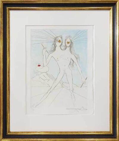 Salvador Dalí, 'Doppelköpfig - Bicéphale', 1968