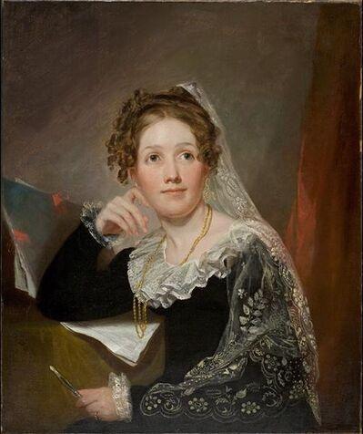 John Wesley Jarvis, 'Portrait of Euphemia Johnston Sinclair', ca. 1815