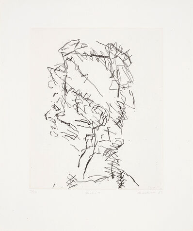 Frank Auerbach, 'Julia, from Seven Portraits', 1989-90