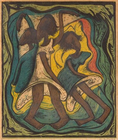 Angel Botello, 'THE DANCE', 1980