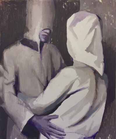 Tomas Harker, 'Two Hooded Figures', 2017