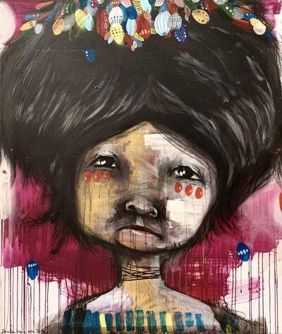 Sebastian Maria Otto, 'Bubble gum break down', 2014