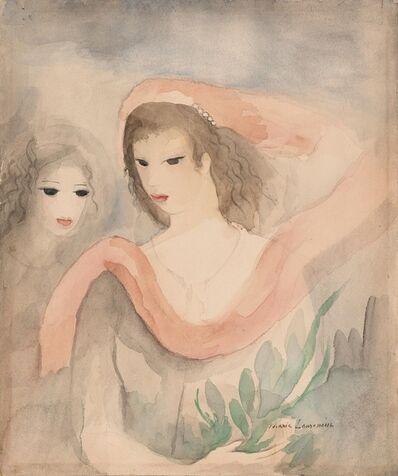 Marie Laurencin, 'Deux Tetes de Femmes', ca. 1926-27