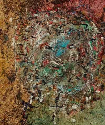 """Enrico Baj, '""""Fauna Head""""', 1957"""