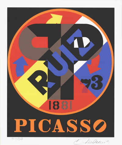 Robert Indiana, 'Picasso', 1997