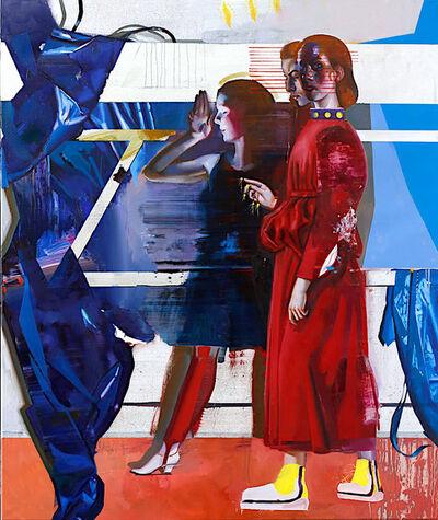 Rayk Goetze, 'Diptych 3 Tafel 2', 2019