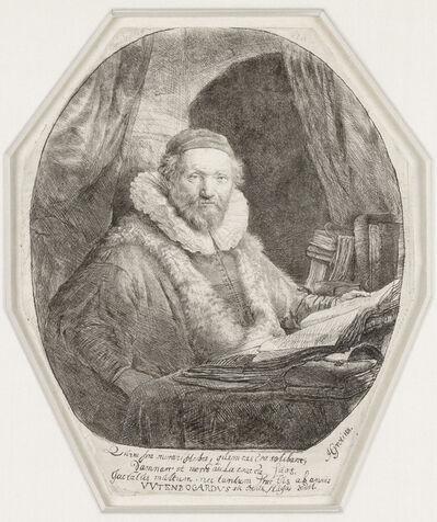 Rembrandt van Rijn, 'Jan Uytenbogaert, Preacher for the Remonstrants', 1635