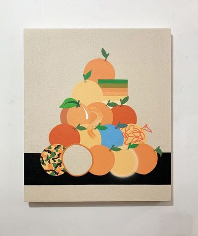 Stephen D'Onofrio, 'Still Life with Stacked Oranges ', 2019