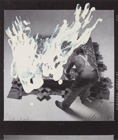 Günther Uecker, 'Entwicklung eines Werkes III (Formumwandlungen)', 1981
