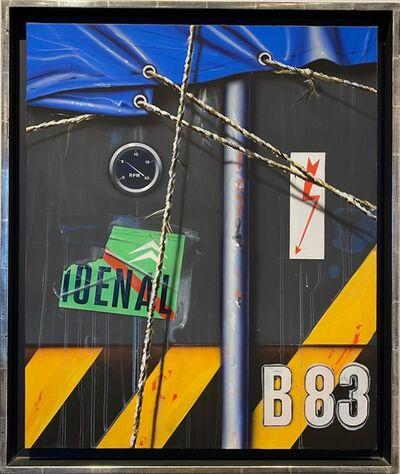 Peter Klasen, 'Container B83 ', 1986