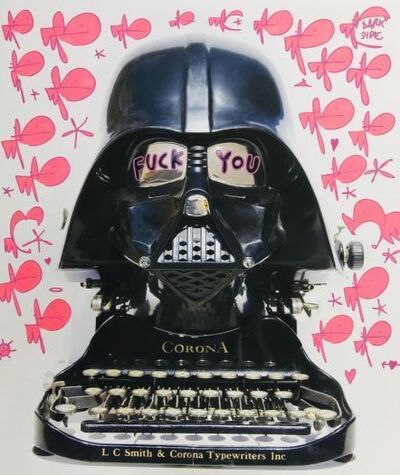 Pure Evil, 'F**K YOU CORONA - TAGGED DARTH TYPEWRITER- DARKSIDE', 2020