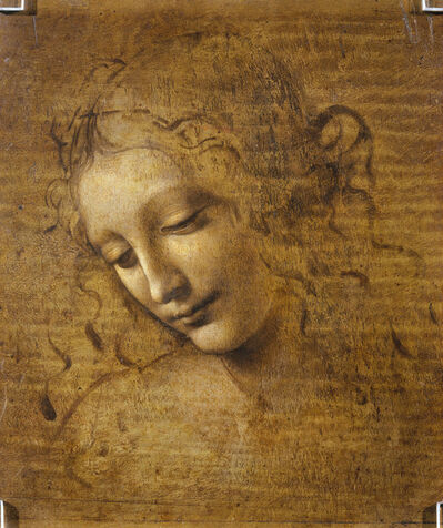 Leonardo da Vinci, 'Head and Shoulders of a Woman (La Scapigliata)', 1500-1505