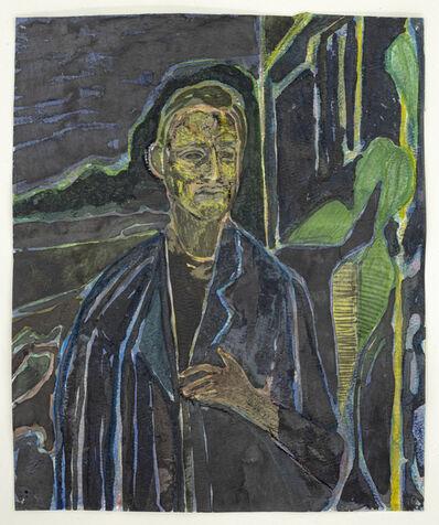 Sky Glabush, 'Portrait After Munch', 2019