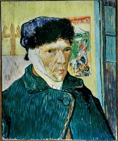 Vincent van Gogh, 'Self-Portrait with Bandaged Ear', 1889