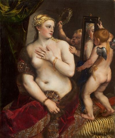 Titian, 'Venus with a Mirror', ca. 1555