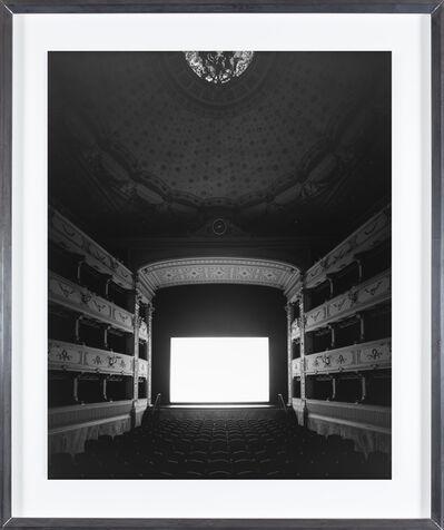 Hiroshi Sugimoto, 'Teatro dei Rozzi, Siena', 2014