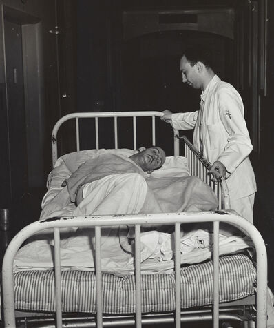 Weegee, 'Untitled (patient in mental ward)', ca. 1950