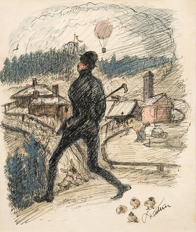 Alfred Kubin, 'Happy-go-lucky', ca. 1920