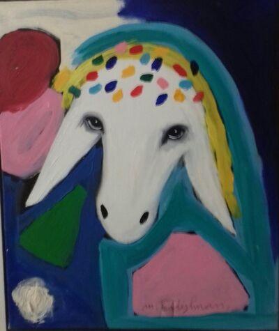 Menashe Kadishman, 'Hippy sheep', 2000