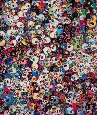 Takashi Murakami, 'These Are Little People Inside Me', 2011