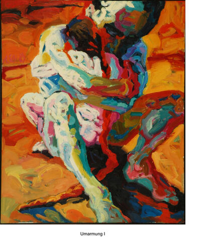 Annette Schröter, 'Die Umarnung (The hug)', 1989