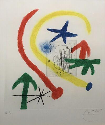 Joan Miró, 'Parapet Walk II', 1964