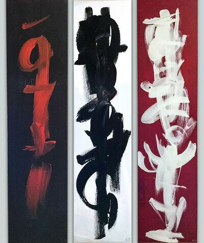 Irina Matinian, 'Black White Red', 2019