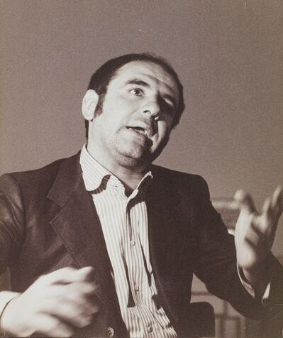 Plinio De Martiis, 'Tano Festa', 1973