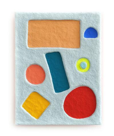 Adam Frezza & Terri Chiao, 'Primary Blocks in Raw Blue Pulp', 2020