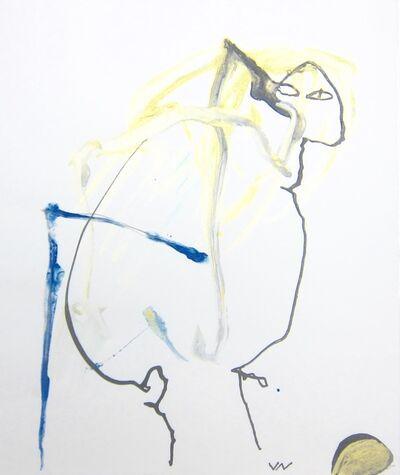 Valère Novarina, 'Devant le crâne d'Adam (In Front of Adam's Skull)', 1993