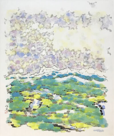 Liu Mu, 'Lawn, Snow Mountain and Propitious Clouds', 2011