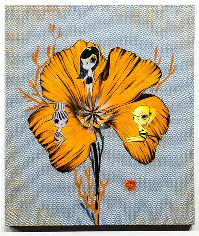 Yasushi Matsui, 'Orange Crush-MystiCali Popi', 2019