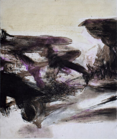 Zao Wou-Ki 趙無極, 'Composition IV, from: Canto Pisan', 1972