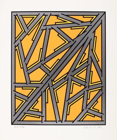Nicholas Krushenick, 'Untitled', 1980