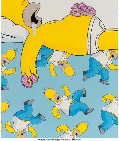 Jerkface, 'Homer Simpson', n.d.