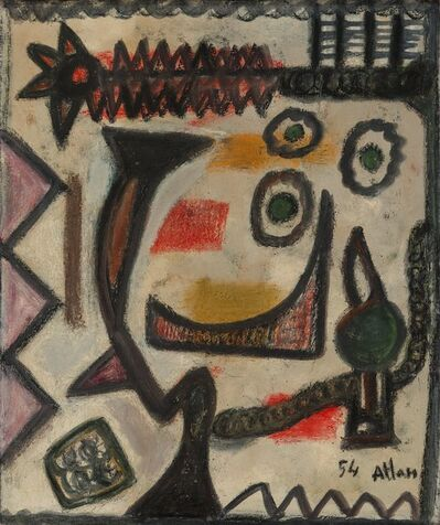 Jean-Michel Atlan, 'L'Egyptienne', 1954