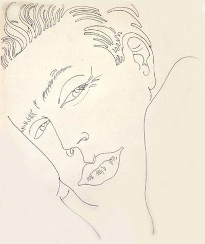 Andy Warhol, 'Unidentified Male', ca. 1959