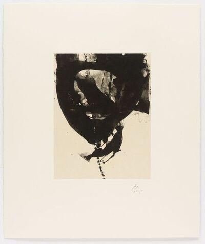 Robert Motherwell, 'Nocturne VIII, from Three Poems by Octavio Paz', 1988