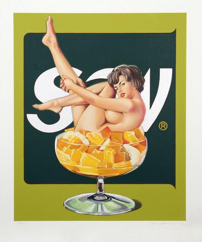 Mel Ramos, 'Miss Fruit Salad (White)', 1989