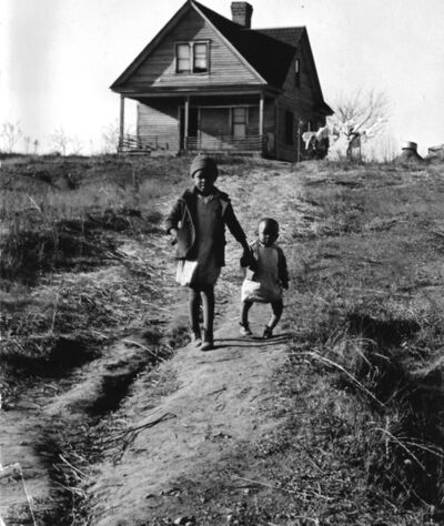 Marion Post Wolcott, 'Tenant Farmer's Children, Rickets, NC', 1938