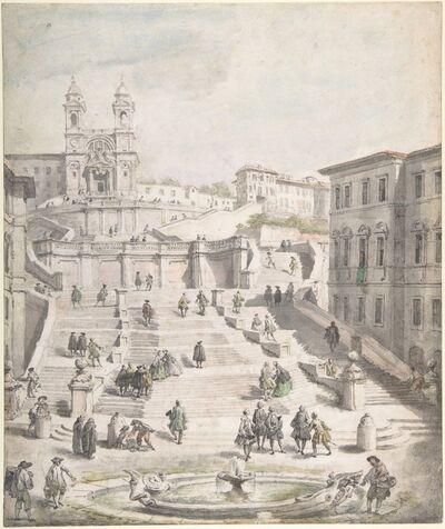 Giovanni Paolo Panini, 'Scalinata della Trinità dei Monti', ca. 1756–1758