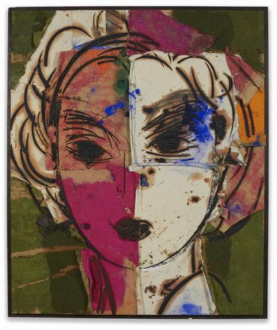Manolo Valdés, 'Dorothy (retrato blanco y purpura)', 2004