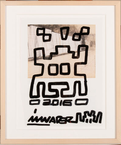 Invader, 'Invader / Christo', 2016
