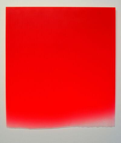 Peter Alexander, '1/17/16 (Large Red Drip)', 2016