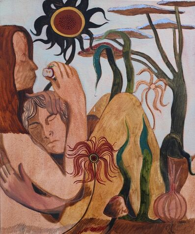 James Owens, 'She Cradled His Head Under Her Palm', 2020