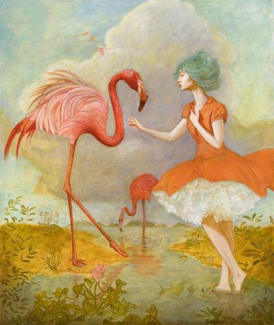 Deirdre Sullivan-Beeman, 'FLAMINGO GIRL', 2019