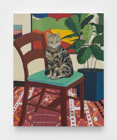 Hilary Pecis, 'Kaba on a Chair', 2019
