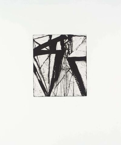 Brice Marden, 'Etchings to Rexroth #21', 1986